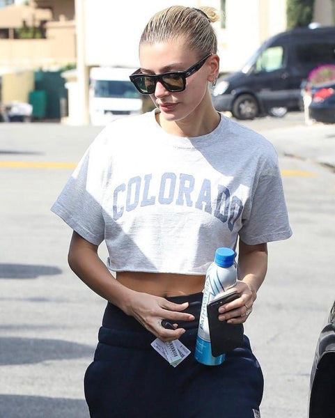 Hailey Bieber spotted drinking PATHWATER