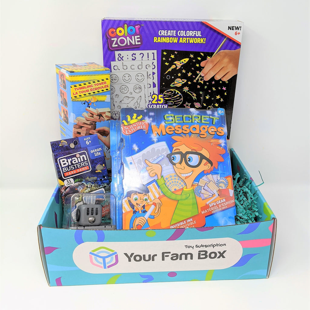 Monthly Toy Box Subscription