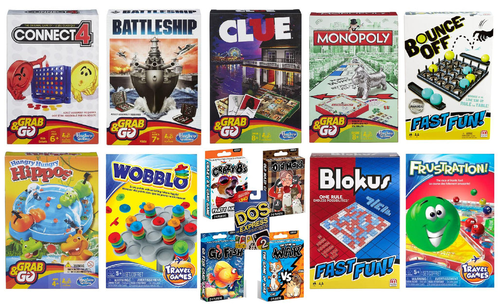 Board and Card Game Bundle