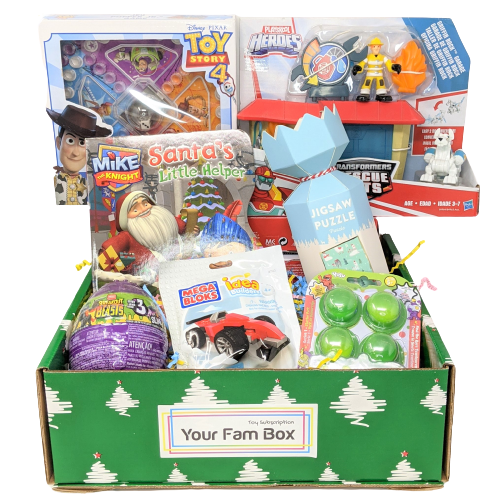 2020 Christmas Holiday Surprise Toy Box