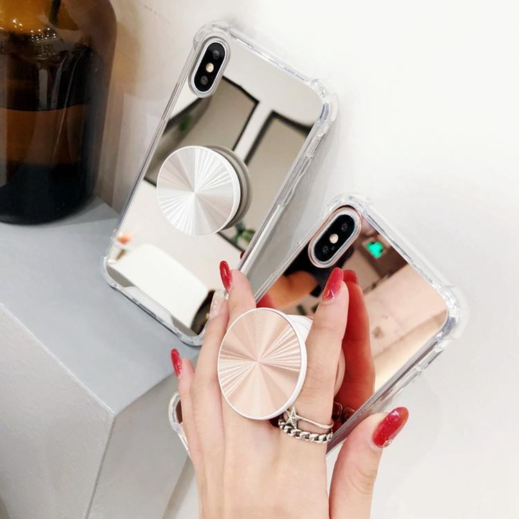 quality design d8017 31701 Viral on Instagram Youtube Mirror Back Popsocket Case with Lanyard Hole for  iPhone XS MAX XS XR X 8 8P 7 7P