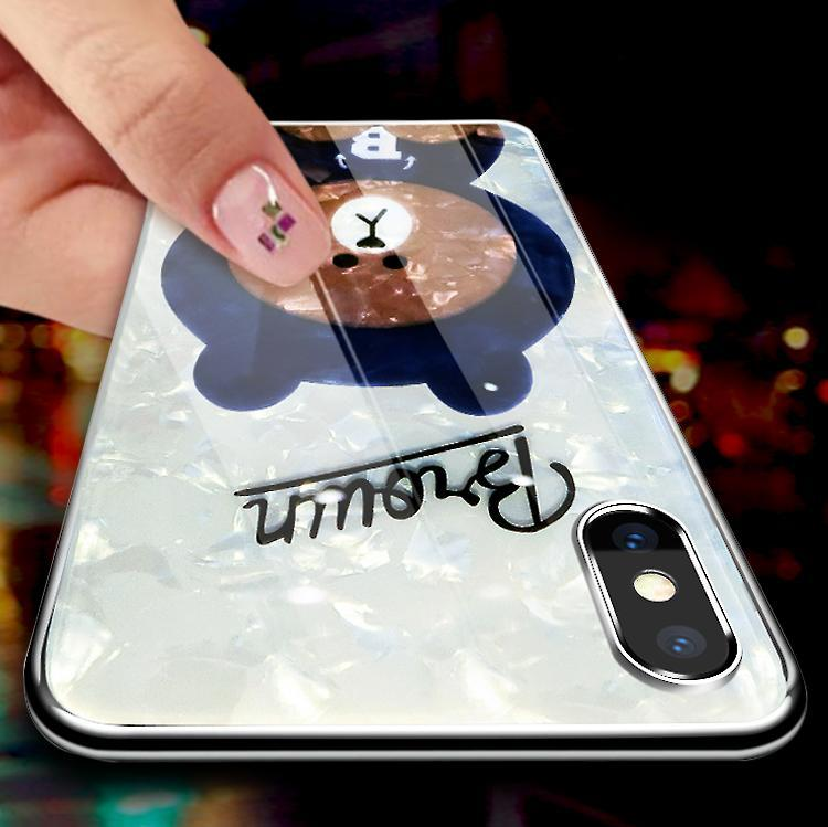 Limited version Shell style cute bear case for iPhone XS XS MAX XR X