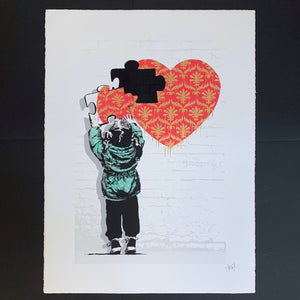 The Missing Piece - Damask Heart