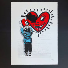 Load image into Gallery viewer, The Missing Piece - Haring Heart