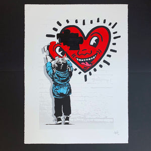 The Missing Piece - Haring Heart