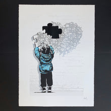 Load image into Gallery viewer, The Missing Piece - Silver Heart