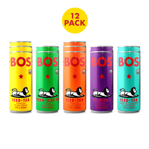 12 Pack Variety - BOS Iced Tea