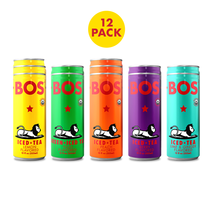 Twelve Pack Variety - BOS Iced Tea