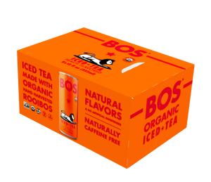 Peach Rooibos Red Tea - 8 Pack