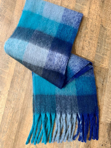 Libby Loves Long Scarf- Blue