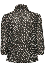 Load image into Gallery viewer, Saint Tropez Lily SZ Shirt Star- Black