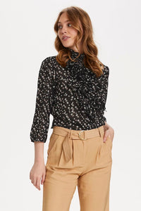 Saint Tropez Lily SZ Shirt Star- Black