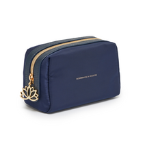Load image into Gallery viewer, Estella Bartlett Makeup Bag- Navy