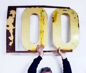 100 Sign, Prop from Librarians