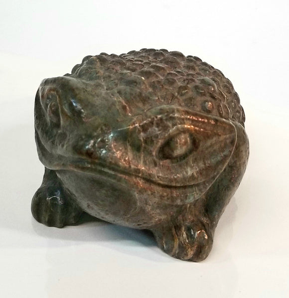 Chinese Hardstone 3 legged Toad
