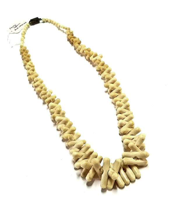 Antique Japanese Bone Necklace