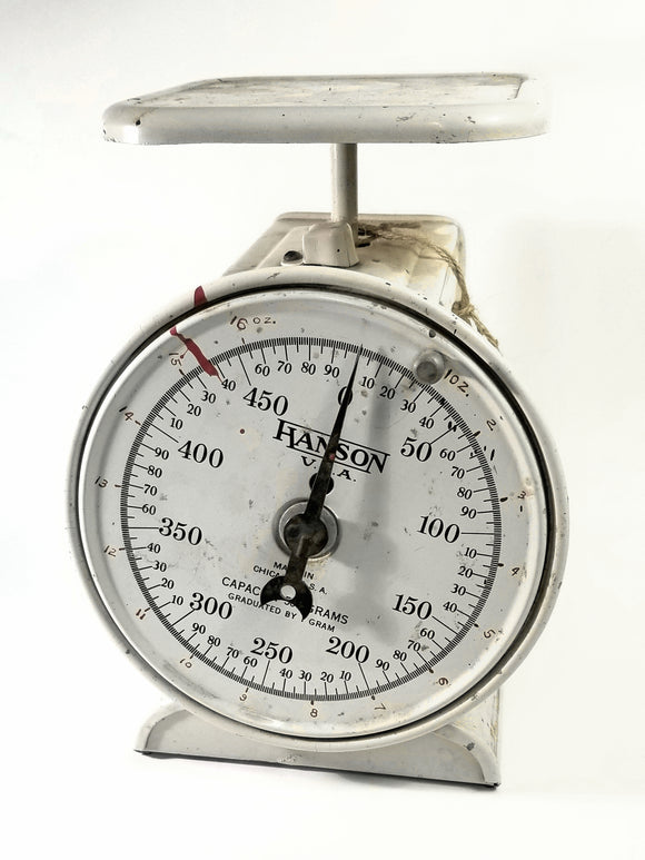 Hanson Adjustable Dial Gram Scale