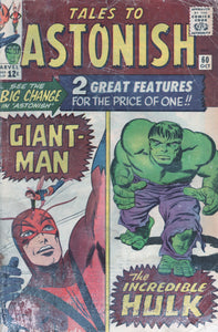 Tales to Astonish  Giant-Man & Hulk 60 Oct
