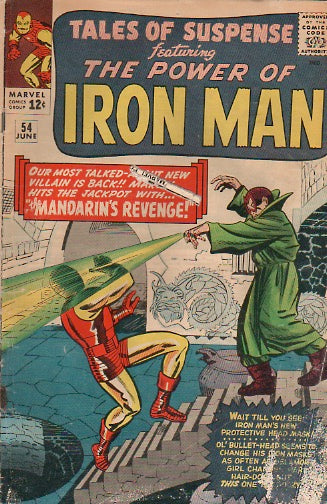 Tales of Suspense 54 June