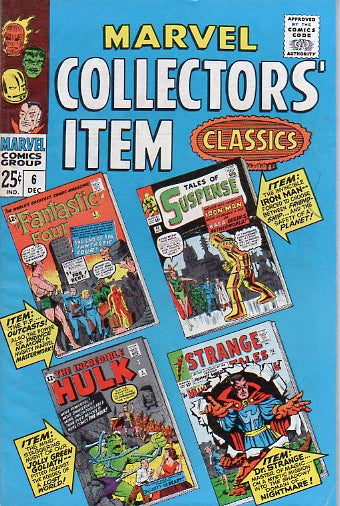 Marvel Collectors' Item Classics 6 Dec