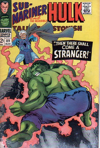 Sub-mariner and Hulk 89 Mar