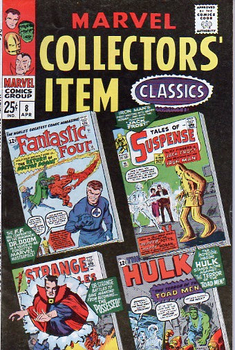 Marvel Collectors' Item Classics 8 Apr