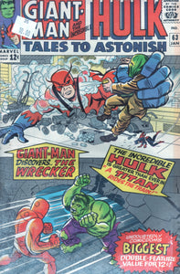 Tales to Astonish Giant-Man & Hulk 63 Jan