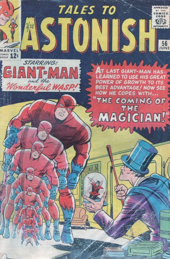 Tales to Astonish 56 June Giant-Man and teh coming of the Magician
