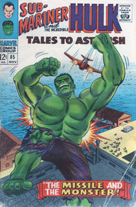 Tales to Astonish 85 Nov Sub-mariner & Hulk