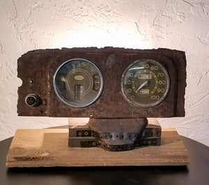 Antique Ford Dashboard TV Light