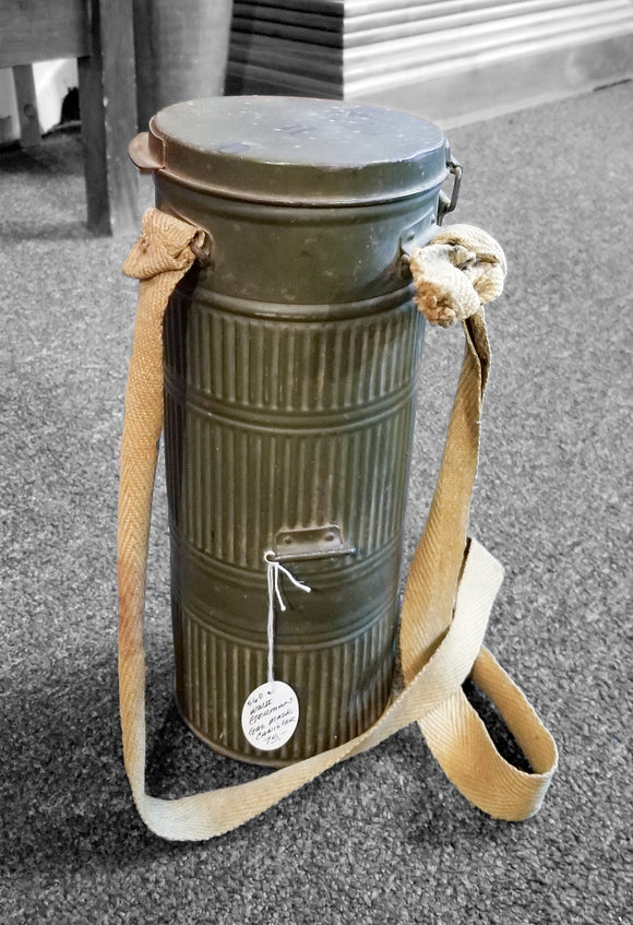 WW2 German Gas Mask Canister
