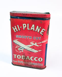 Hi Plane Tobacco Can