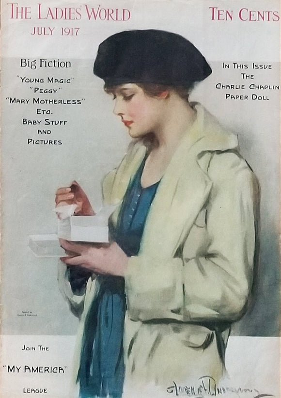 Poster of Ladies' World July 1917 Magazine Cover