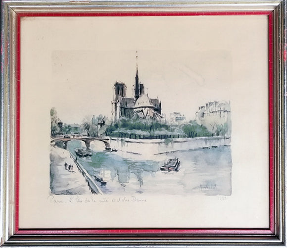 Print of Notre-Dame