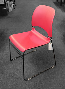 Red Limerick Stacking Chair