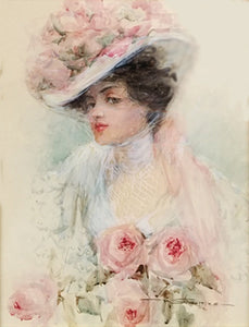 1800's Lady in Hat by Stokes