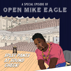 "Open Mike Eagle | ""A Special Episode Of Open Mike Eagle: Split Pants At Sound Check!"" Vinyl"