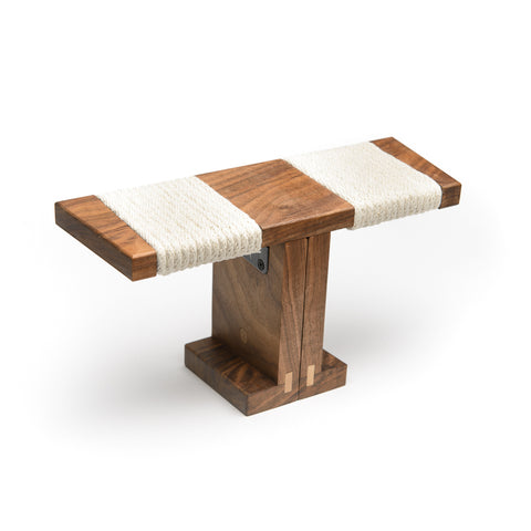 Ronin Meditation Bench, Walnut
