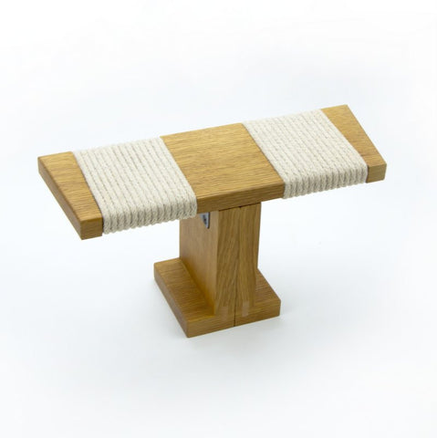Ronin Meditation Bench, White Oak