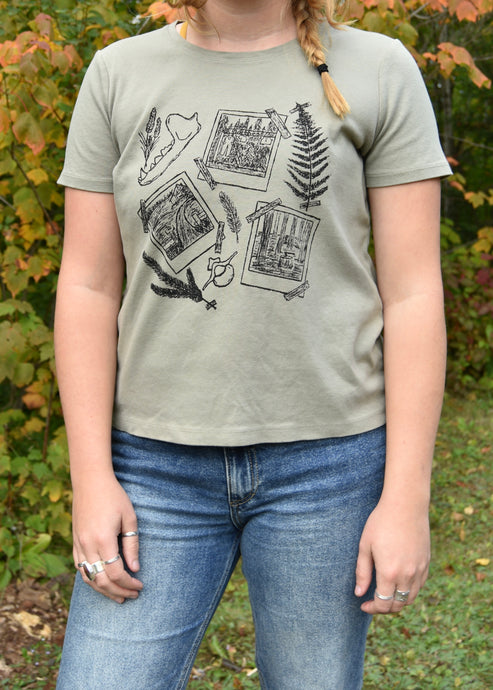 [OOAK] Sage Homestead Women's Tee - M/L