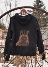 Load image into Gallery viewer, Badger + Rattler Unisex Zip Hoodie