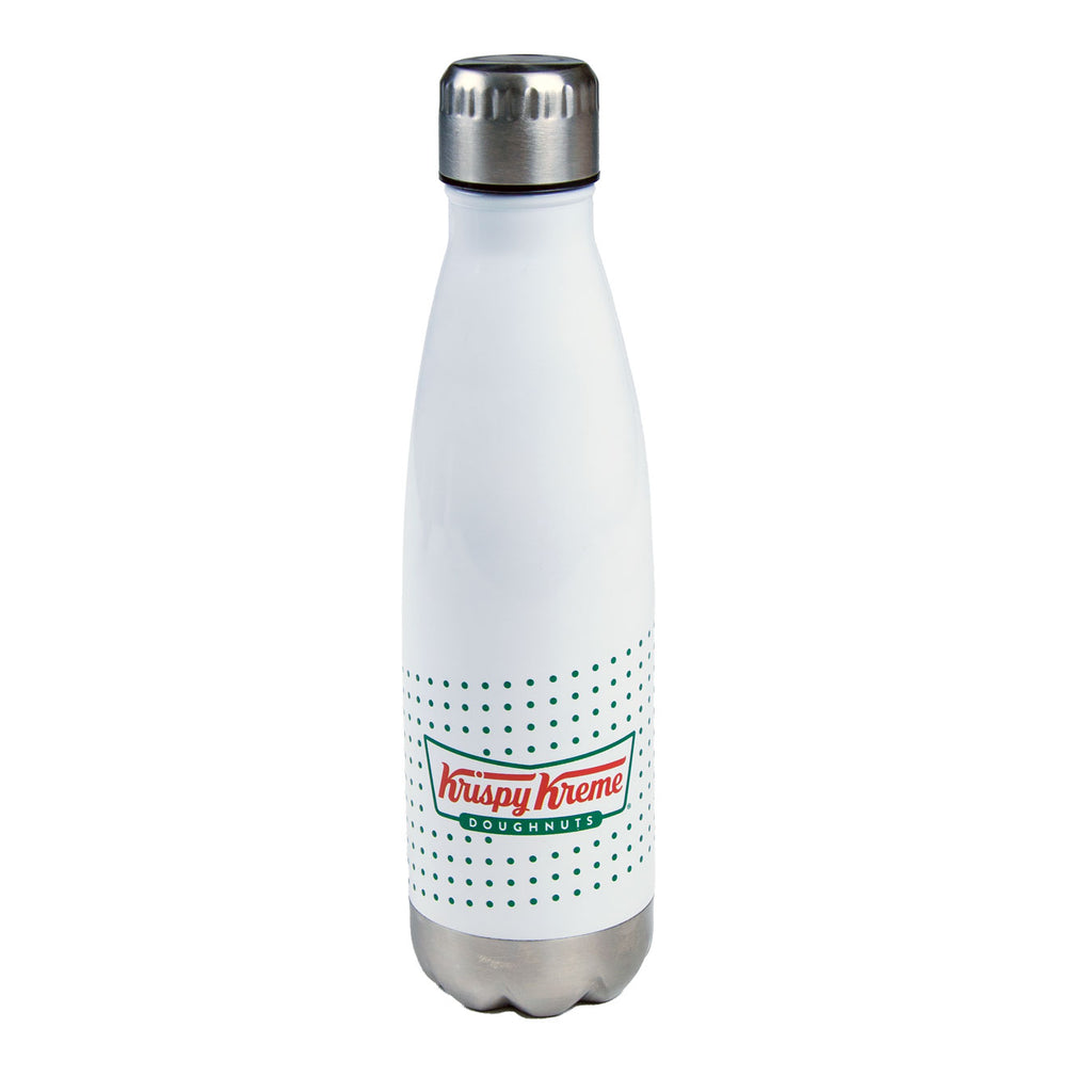 Classic Krispy Kreme Logo 17oz Stainless Steel Bottle