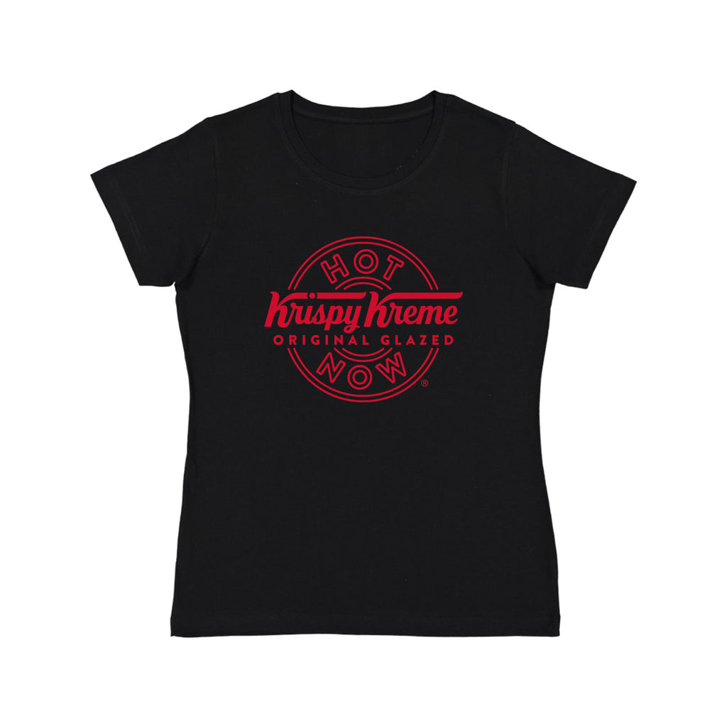 "Krispy Kreme ""Hot Now"" Ladies Fit T-Shirt"