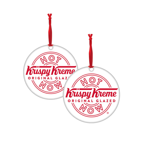 "Krispy Kreme ""Hot Now"" Ornament"