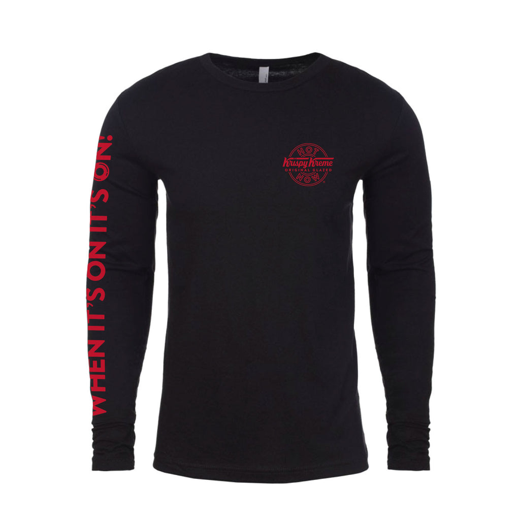 "Krispy Kreme ""Hot Now"" Long Sleeve T-Shirt"