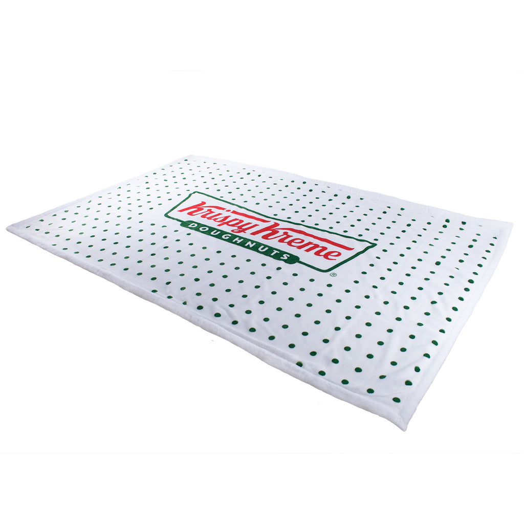 Classic Krispy Kreme Logo Throw Blanket