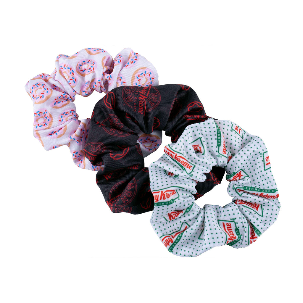Krispy Kreme Scrunchie Set (3-Pack)