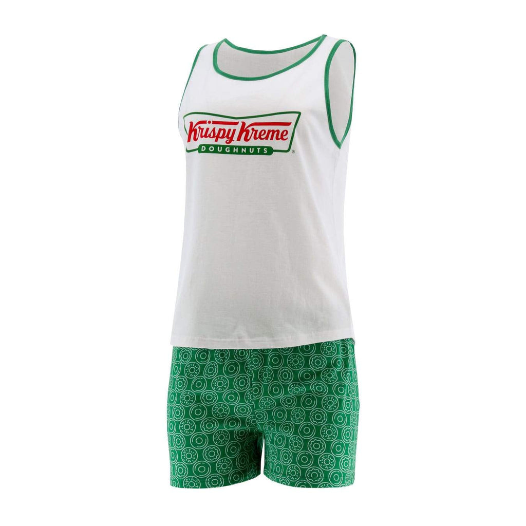 Krispy Kreme Bowtie Women's Tank and Short Lounge Set