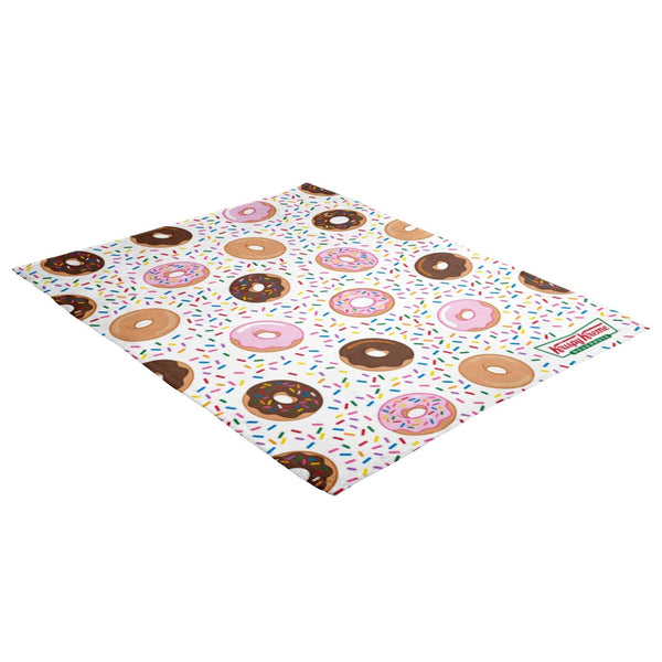 Doughnuts & Sprinkles Throw Blanket