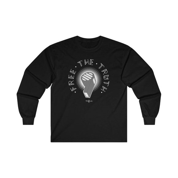 Free the Truth - WikiLeaks - Unisex Long Sleeve Tee - WikiLeaks Shop EU